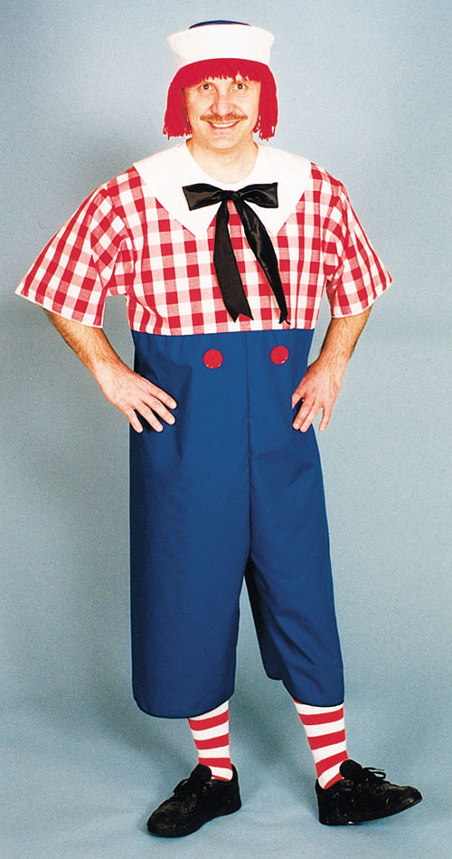 Costumes For All Occasions 12111 Raggedy andy Adult