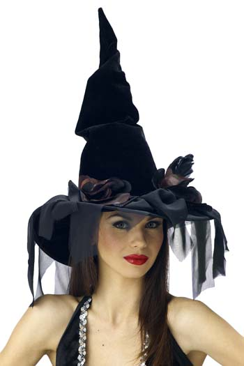 Costumes For All Occasions MR167027 Witch Hat Deluxe Winding