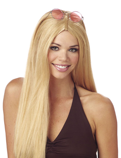 Costumes For All Occasions MR176002 Wig 24 Inch Straight Blonde