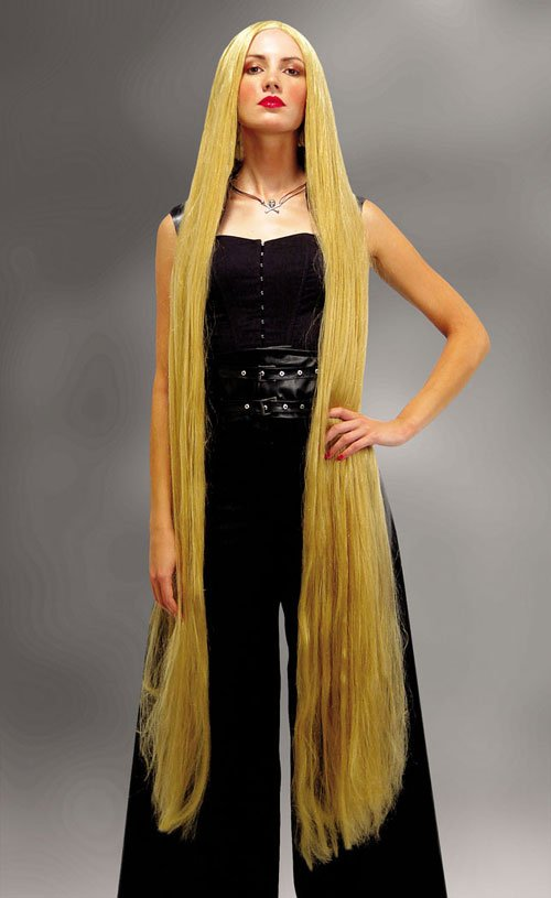 Costumes For All Occasions MR176005 Wig Blonde 60 Inch Straight