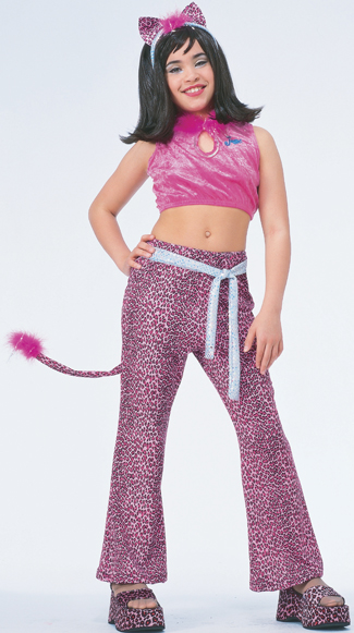 Costumes For All Occasions AF186LG Josie Pink Child Large