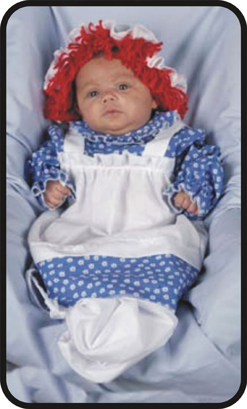 Costumes For All Occasions 12118 Raggedy Ann Bunting