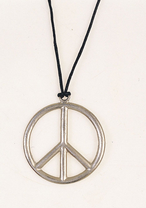 Costumes For All Occasions RU1596 Peace Pendant Metal