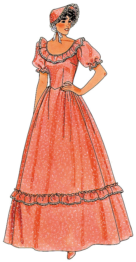 Costumes For All Occasions AG01 Pattern Pioneer 1 Pc 1 Size