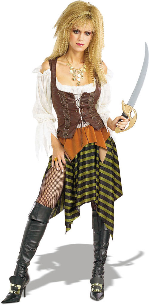 Costumes For All Occasions RU16845 Pirate Wench Standard Adult