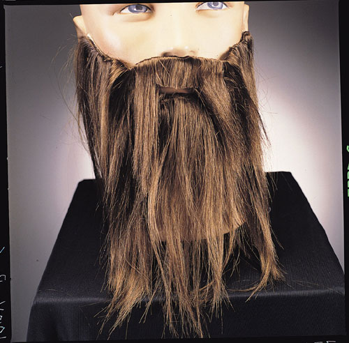 Costumes For All Occasions RU2045BN Full Beard and Mustache Brown