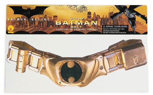 Costumes For All Occasions RU2474 Batman Belt Child