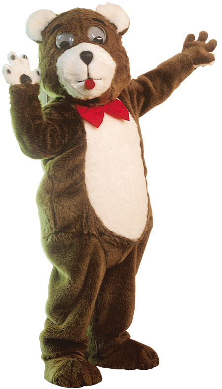 Costumes For All Occasions AL80AP Teddy Bear Mascot
