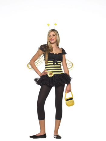 Costumes For All Occasions UA48008TSD Bee Sunflower Teen sm Med.