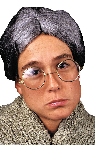 Costumes For All Occasions BB296 Glasses Granny Deluxe Round