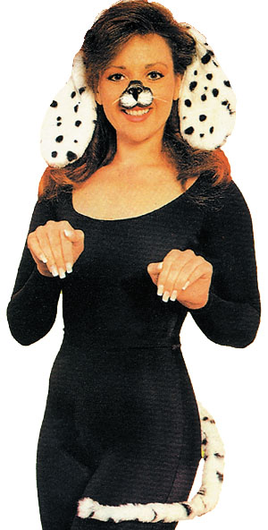 Costumes For All Occasions BB468 Dalmation Kit