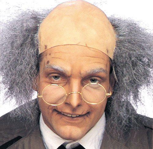 Costumes For All Occasions BC48 Headpiece Bald Old Man