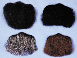 Costumes For All Occasions CB37DB Goatee 3 Point Dark Brown