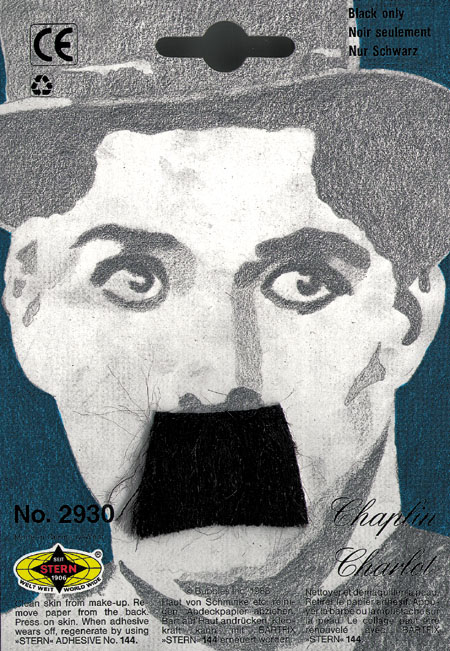 Costumes For All Occasions CB42 Mustache Charlie Chaplin