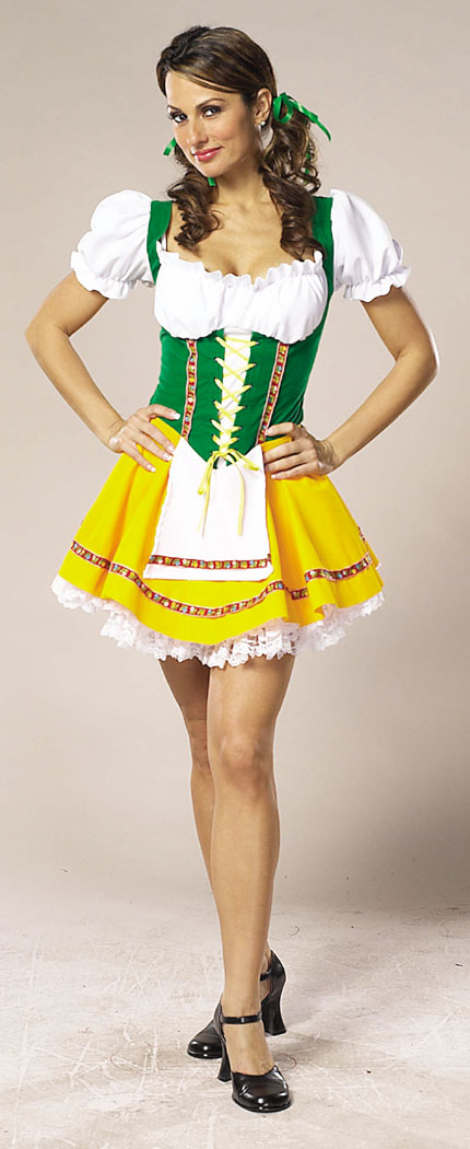 Costumes For All Occasions CS304XS Beer Garden Girl x sm
