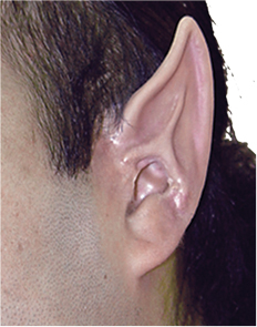 Costumes For All Occasions CSEZ064 Ez Fx Space Ear Tips Kit Large