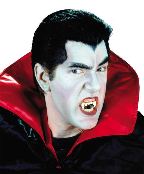 Costumes For All Occasions CSFX004 Vampire Make Up Kit Deluxe