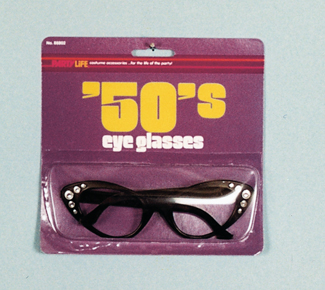 Costumes For All Occasions 88802 50S Glasses