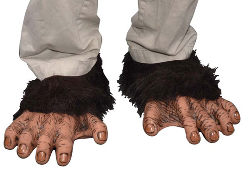 Costumes For All Occasions 1005BSF Chimp Feet