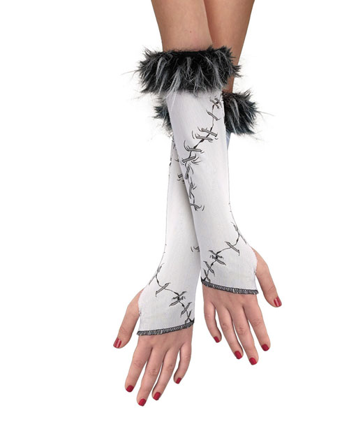 Costumes For All Occasions DG14378 Stitched Glovettes Child