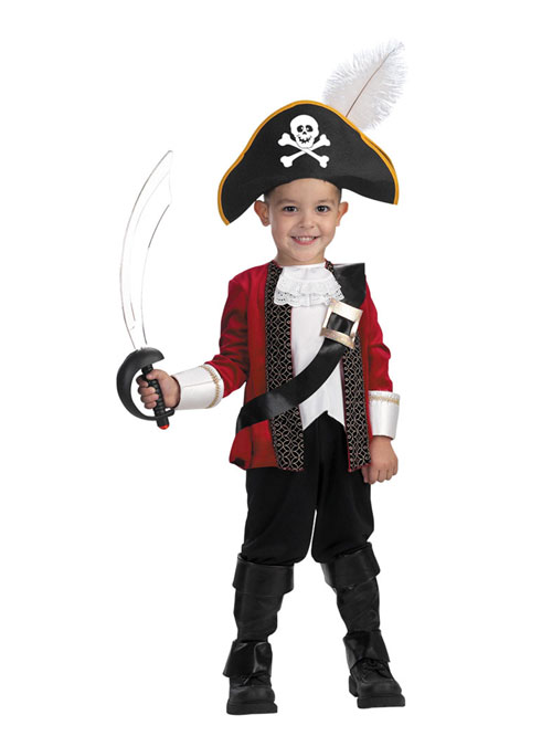 Costumes For All Occasions DG2163M El Capitan Toddler Size 3T 4T