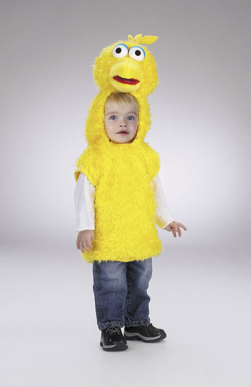 Costumes For All Occasions DG5005S Big Bird Vest 1 2
