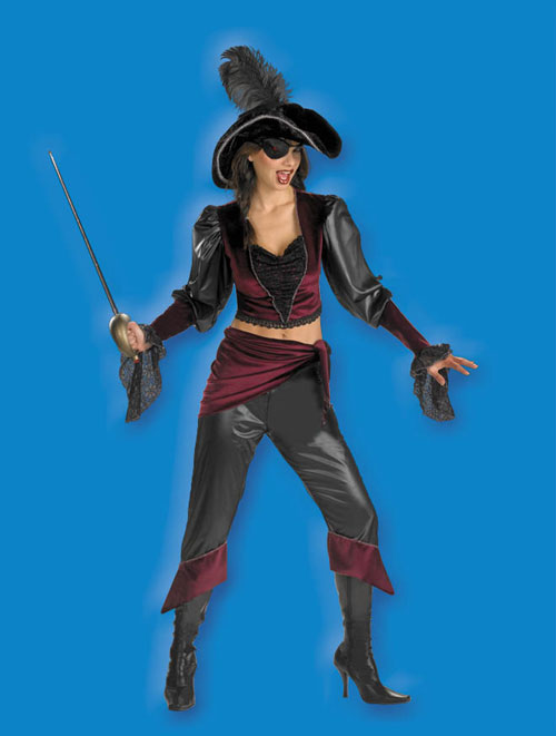 Costumes For All Occasions DG521 Buccaneer Beauty Adult Costume