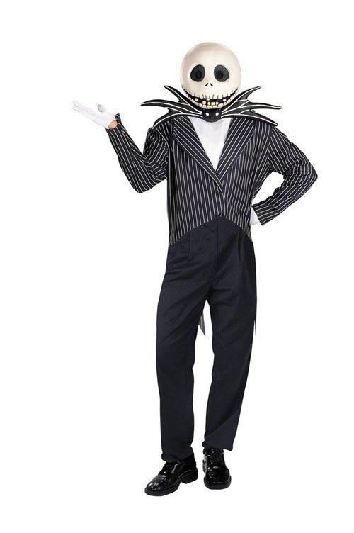 Costumes For All Occasions DG5761 Jack Skellington Deluxe Adult