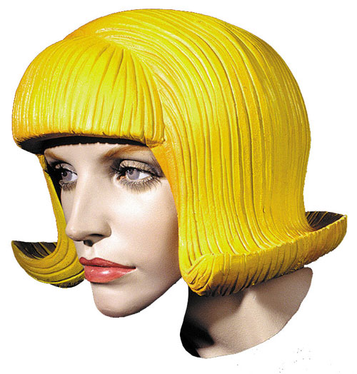 Costumes For All Occasions DU1362 Flip Rubber Wig