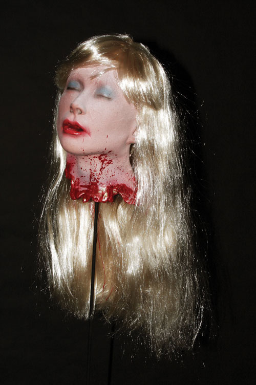 Costumes For All Occasions DU2104 Blonde Debbie S Head