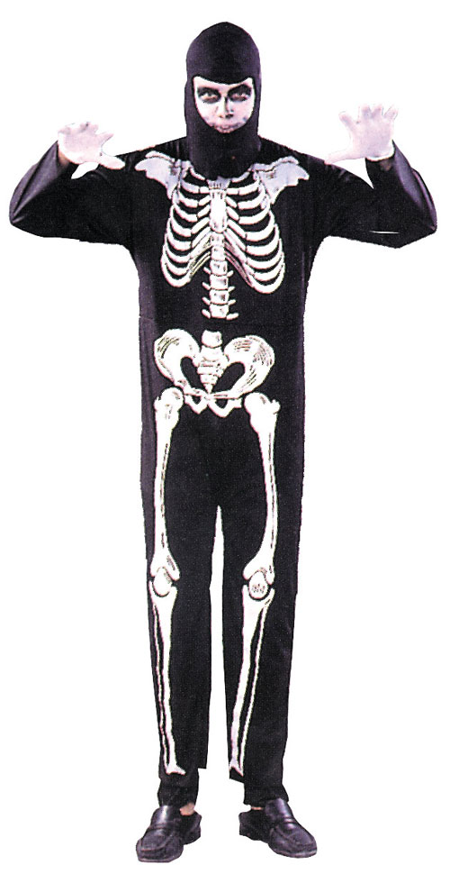 Costumes For All Occasions AA06 Skeleton One Size
