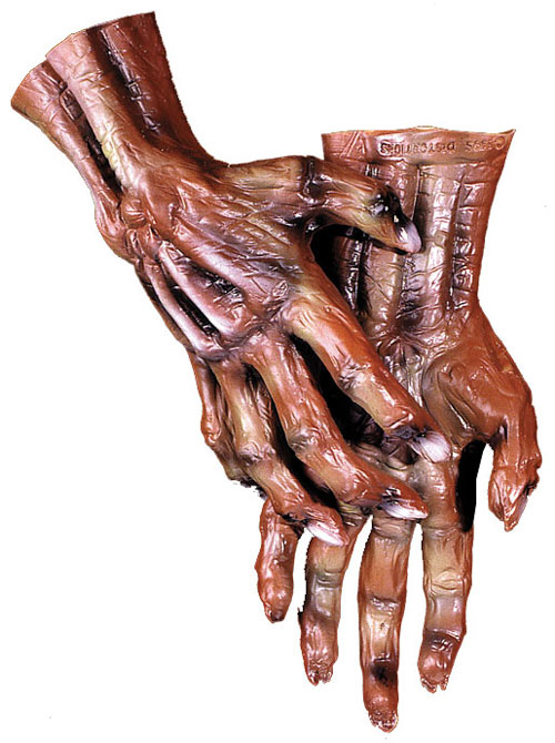 Costumes For All Occasions DU960 Corpse Hands
