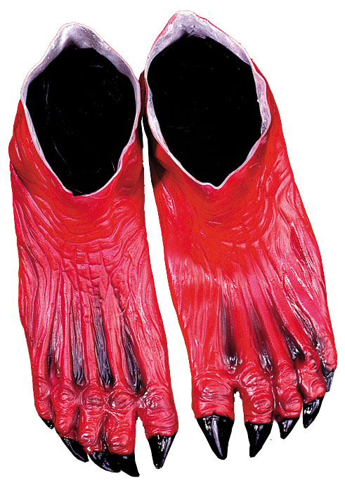 Costumes For All Occasions DU971 Devil Feet