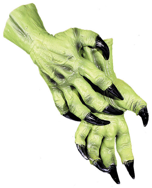 Costumes For All Occasions DU995 Witch Hands
