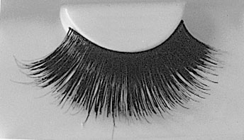 Costumes For All Occasions EA81 Eyelashes Blk With Adhv 199