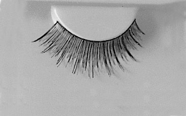 Costumes For All Occasions EA86 Eyelashes Black 74