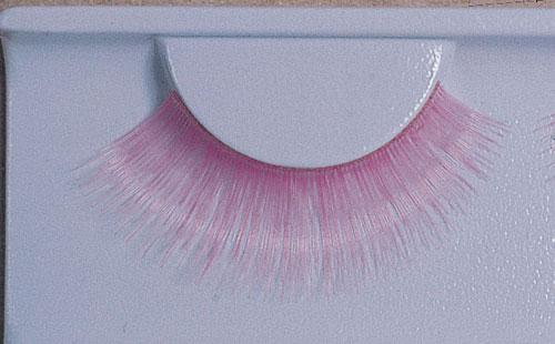 Costumes For All Occasions EA87 Eyelashes Pink