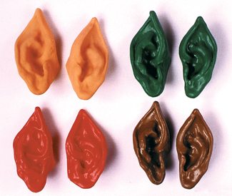 Costumes For All Occasions FA30FL Ears Vulcan Flesh