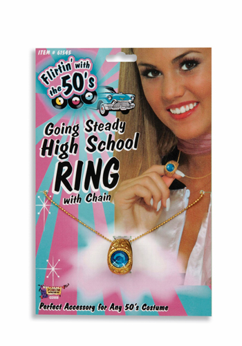 Costumes For All Occasions FM61545 Going Steady High School Ring