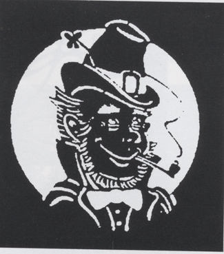 Costumes For All Occasions FP104 Stencil Leprechaun Stainless