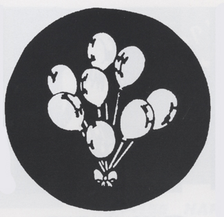 Costumes For All Occasions FP117 Stencil Balloons Steel