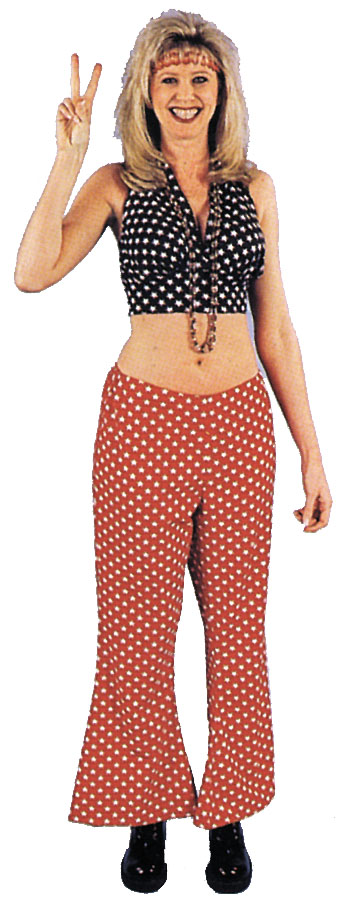 Costumes For All Occasions AA193 Hippie Girl
