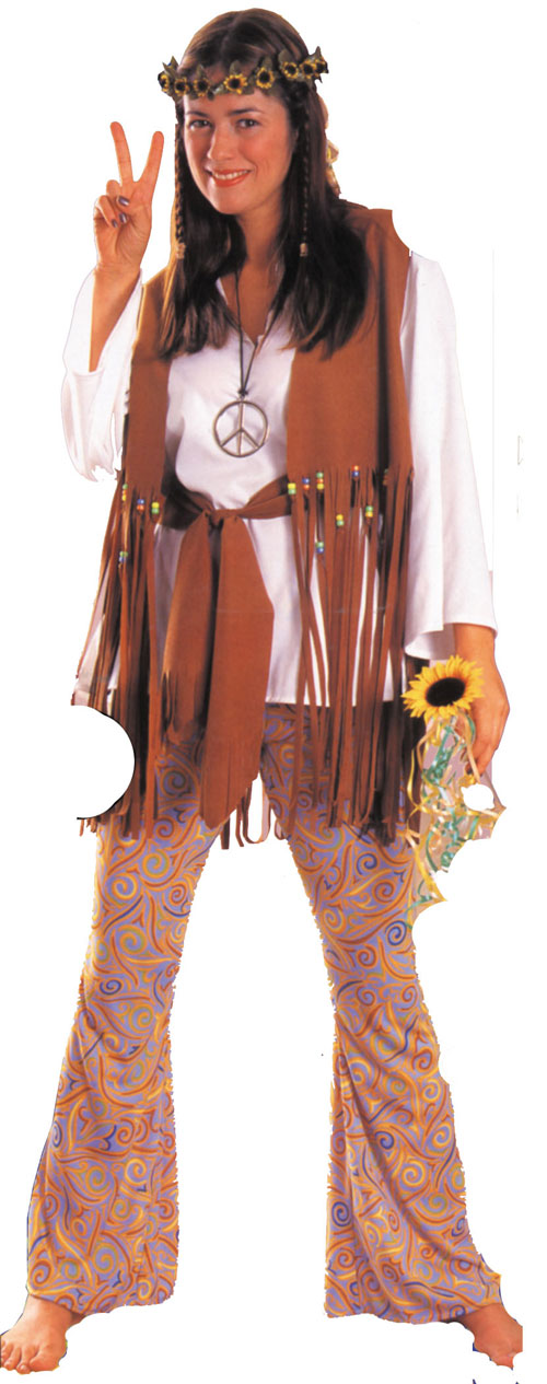 Costumes For All Occasions AA204 Hippie Love Child Adult