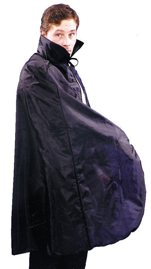 Costumes For All Occasions AA21BK Cape 45In Taffeta Black