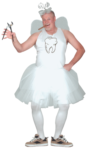 Costumes For All Occasions FW110144 Tooth Fairy Adult Costume