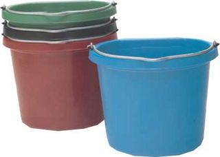 Fortex Industries Flat Back Bucket Hot Pink 20 Quart - FB-120HP