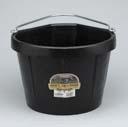 Miller Rubber Corner Bucket Black 5 Gallon - DFC20