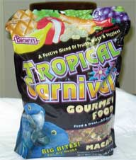 Brown S F. M. Sons Macaw Tropical Carnival Food 14 Pounds - 44688