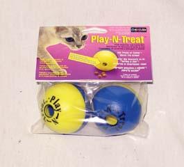 Virtu Play-n-treat Ball 2 Pack - PT02PT