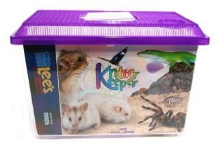 Lee S Aquarium & Pet Products Kritter Keeper Large - 20025